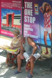 Varna -At a Bus Stop