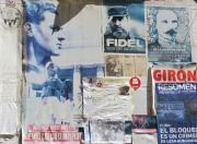 Havana - Posters on a Side Street