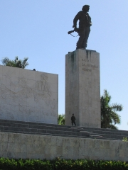 Soldier Guarding a Soldiers' Monument