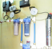 Water Filtration System Which Serves a Village