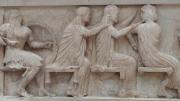 Acropolis Museum - Three Women Braiding Hair