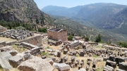 Delphi - High Above the Temple