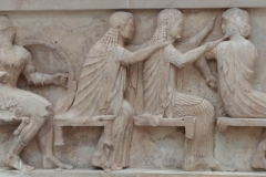 Acropolis Museum - Three Women Braiding Hair
