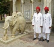 Guards at a Palace