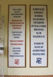 Meditation Center Signs