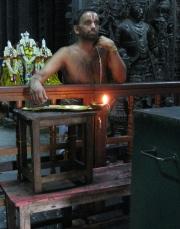 Priest in a Hindu Temple