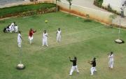 Schoolgirls, Outdoor Gym Class