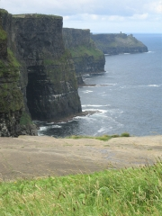 Cliffs of Moher - Side View